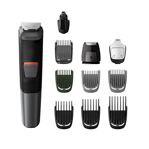 Philips MG5730 groming Kit Serie 5000 Trimmer Wasserdicht 11 in 1 Bart, Haar und Körper