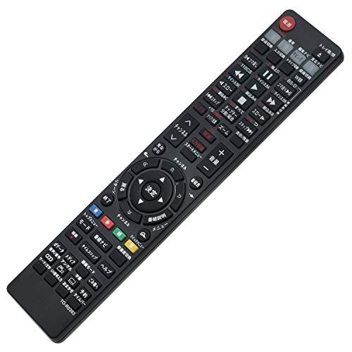 PerFascin レコーダー用リモコン Fit For TOSHIBA(東芝) SE-R0379 SE-R0356 SE-R0357 SE-R0352 SE-R0380 SE-R0331 SE-R0416 SE-R0386 SE-R0383 RD-BR610 RD-X10 RD-BZ700 RD-BZ800 RD-BZ710 DBR-Z160 RD-BZ810 RD-BR600 RD-X9 RD-R200 RD-R100 DBR-Z150 DBR-Z160 RD-G503WJ RD-G503KJ RD-S304K RD-S1004K RD-E303 RD-G503K RD-E304K RD-E1004K RD-E305K RD-E1005K代用