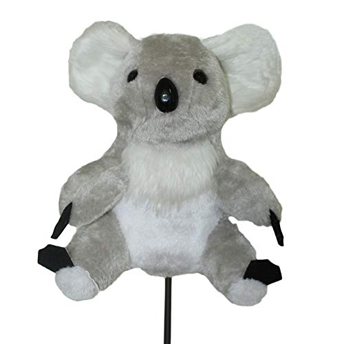 Scott Edward Animal Golf Head Covers Cute Koala Fits Over Driver Wood (460cc) Popular with Male and Female a Nice Gift