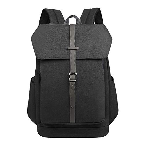 Wind Took Mochila Tipo Casual 14 Pulgadas Mochila portátil Backpack Laptop Mochilas Escolares neotbook Hombre Mujer Mochilas de universiteria Trabaja Viaje 33x17x38cm