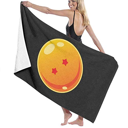 U/K Dragonball 2 Star Toalla de baño de secado rápido