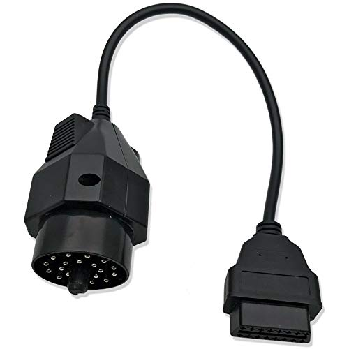 Find Discount HQMelectronicsparts Supplies for 20 Pin to OBD2 Female 16Pin Auto Diagnostic Connector...