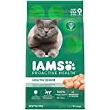 IAMS PROACTIVE HEALTH HEALTHY SENIOR Dry Mature Cat Food with Chicken Cat...