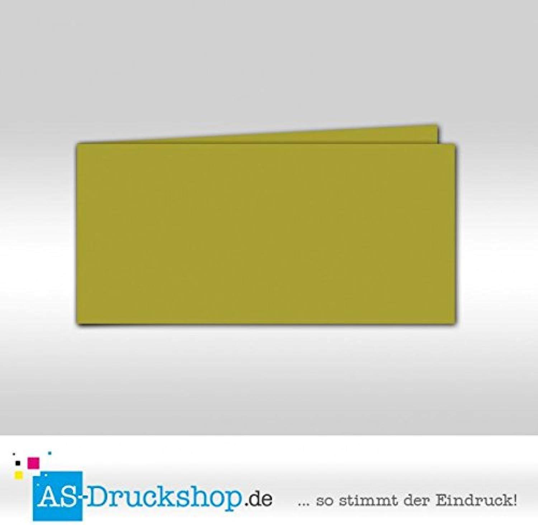 Faltkarte - Limone - Samt Samt Samt satiniert 50 Stück DIN Lang quer B079Q1G82X | Bestellung willkommen  8e903d