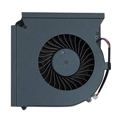 B Blesiya Repuesto de Computadora del Fregadero del Ventilador de Refrigeración de La CPU para MSI 17AX GT73 Negro