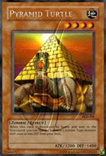 2003 Pharaonic Guardian Unlimited PGD-26 Pyramid Turtle (R) Rare / Single YuGiOh! Card in a Protective Deck Sleeve