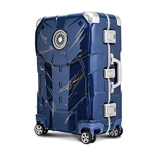 アイアンマン MARVEL スーツケース バッグ バック 旅行用かばん キャリー キャリーバック スーツケース S サイズ 3日4日5日 アベンジャーズ エンドゲーム Avengers Endgame【103-D2607-20】 ブルー・バトルver(J6
