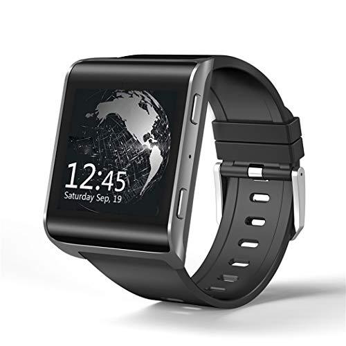 Smart Watch Android Und IOS Sport Armband GPS Pulsmesser Bluetooth Uhr Schrittzähler Wasserdichte Uhr,Black
