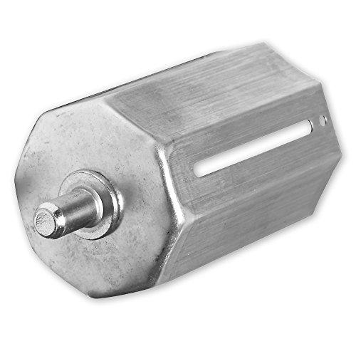 Aussenliegende Walzenkapsel, für Achtkant Rolladenwelle SW 60, mit aussenliegendem Achsstift 12 mm, von EVEROXX®