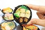 2PCS escala en miniatura japoneses Marisco Fideos jugar, comida de la cocina por Forhouse barbies muñeca para los niños