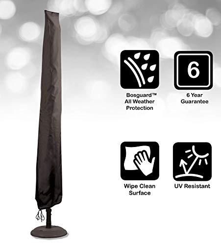 Bosmere Storm Black Schutzhülle für XL-Sonnenschirm