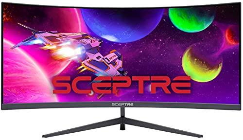 Sceptre C305B-200UN1 30″ Curved Monitor