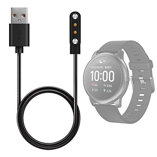Eariy - Cargador compatible con Xiaomi YouPin-Haylou-Solar LS05, cable de carga para...