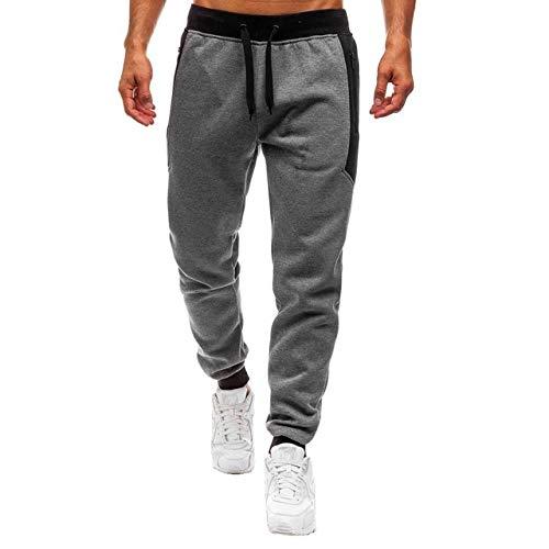 Pantalons pour Hommes Jogger Pantalons de survêtement Sport Lâche Casual Cordon de Serrage Taille élastique Pantalon décontracté Pantalon Sportswear