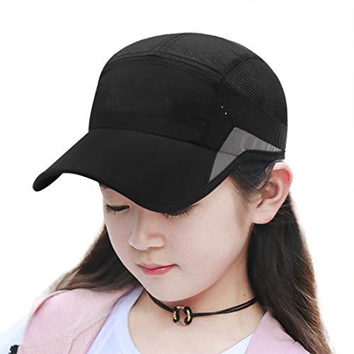 Baseball Cap Kids Summer Quick Dry Sun Visor Hats Girls Boys Breathable...