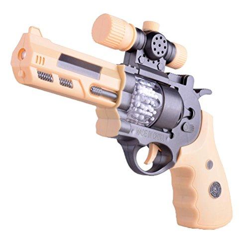 TOYMYTOY Kinder Pistole Spielzeug mit Lichter und Sound Elektro Shooter Gun Spielzeug