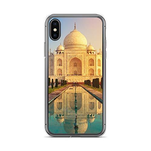 Handyhülle Indien India kompatibel für HTC M9 Tadsch Mahal Schutz Hülle Case Bumper transparent rund um Schutz Cartoon M8