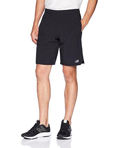 New Balance Herren Tenacity Woven Shorts, Schwarz, Large
