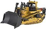 1:50 Metal Power Tractor Engineering Construcción Vehículo de juguete Coche Gigante Bulldozer Juguete Modelo Die-Vehículos Crawrler Vehicle Model Modelo Collection Regalo Niño Juguete Coche Regalo
