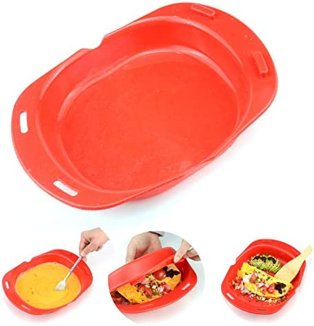 Microwave omelette maker nonstick 3 egg folding Cookware Silicone Microwave Oven Non Stick Omelette product image