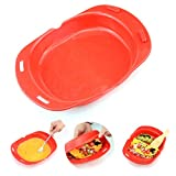 Microwave omelette maker nonstick 3 egg folding Cookware, Silicone Microwave Oven Non Stick Omelette...