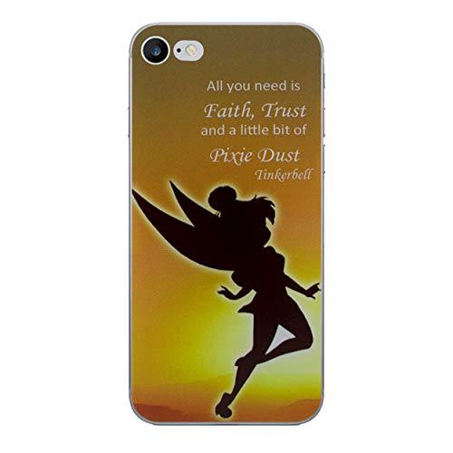 iCHOOSE Peter Pan gelbehuizing voor smartphone Apple iPhone 8 Plus Polvere di Fata