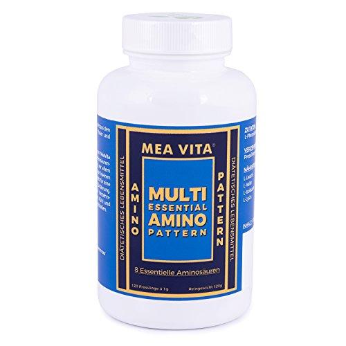 MeaVita 8 essentielle Aminosäuren Presslinge, multi essential amino pattern, 120 Kapseln