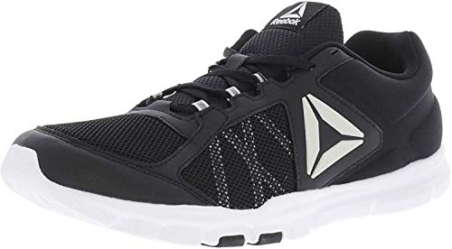 Reebok Men's Yourflex Train 9.0 MT Running Shoe, Alloy/Primal red/Black/White, 10 M US