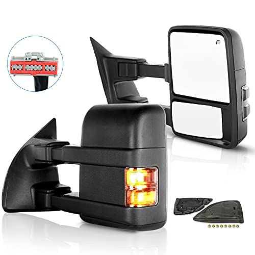 ECCPP Towing Mirrors Replacement fit for Ford for F250 for F350 for F450 for...