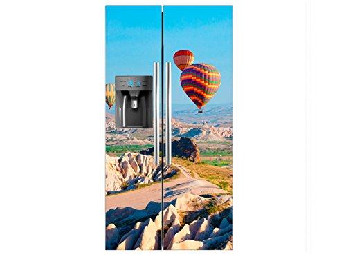 Amerikaanse koelkast-vinyl ballonnen, 91 x 177 cm, verschillende maten, economisch en elegant, koelkaststickers