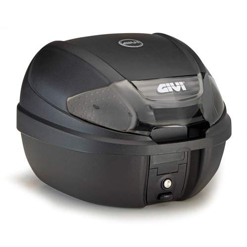 Topcase Embossed Black with Smoked Reflectors E300NT GIVI