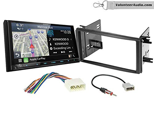 Save %32 Now! Kenwood Excelon DDX9906XR Double Din Radio Install Kit With Apple CarPlay, Android Aut...