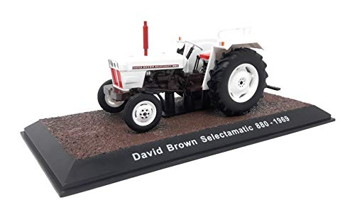 Atlas DieCast Metall Miniaturmodelle Modellauto 1:32 Historischer Traktor 1969 David Brown Selectamatic 880