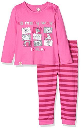 LEGO Duplo CM Pyjama Set Ensemble, Rose (Pink 466), 80 cm Bébé Fille