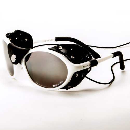 Daisan schmale Gletscherbrille Bergsteigerbrille mit Kat. 4 Scheiben