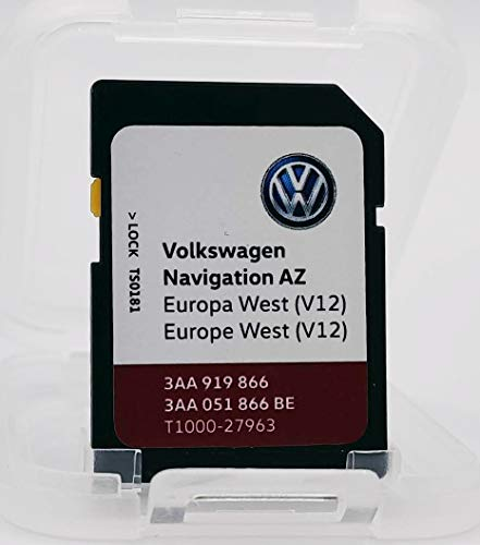 SD-Karte Update VW Navigation AZ Europa West V12 RNS315 / RNS 315 Version 2020