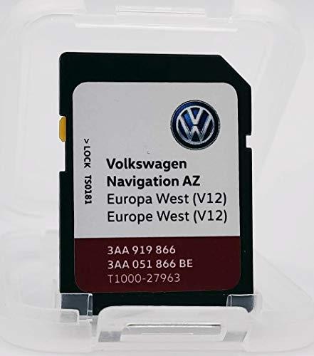 SD-Karte Update VW Navigation AZ Europa West V12 RNS315 / RNS 315 Version 2020
