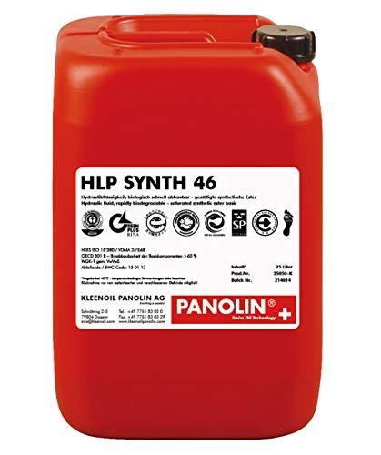 Panolin Hydrauliköl HLP 46 SYNTH, 25 l Kanister, biologisch abbaubar
