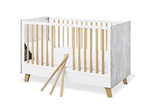 Pinolino 113418 Kinderbett 'Apollo', weiß