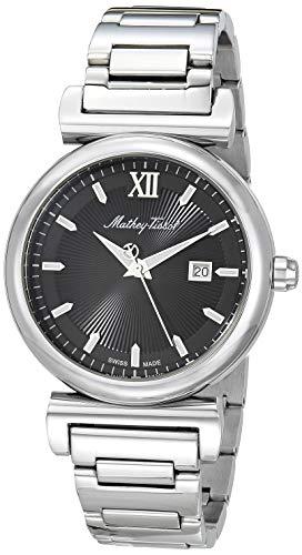 Mathey Tissot Men 's H410AN Quartz Silver Watch