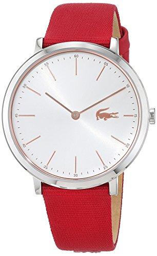 Lacoste Reloj Análogo clásico para Mujer de Cuarzo con Correa en Tela 2000998
