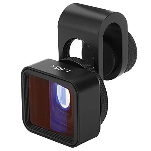 Goshyda Mobiles Anamorphotisches Objektiv, 1,55-fache Verformung Breitbildfilmherstellung mit Legierung + Optischem Glasmaterial Mobiles Anamorphotisches Objektiv für Telefone/IOS-Pad