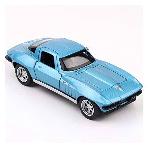 1:32 para Corvette C2 Modelo De Coche De Carreras De Metal Coche De Juguete De Aleación Modelos De Vehículos De Fundición Juguetes para Niños Juguetes Coches
