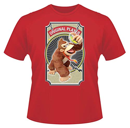 Kids Donkey Kong Original Player Red T-shirt, 5 Colours Available