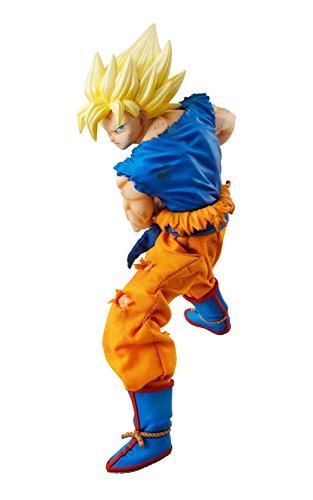Megahouse Dragon Ball Z Super Saiyan Son Goku (versión más de Disco) Dimensión de Dragon Ball Figura de acción
