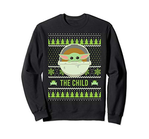 Star Wars The Mandalorian The Child Christmas Sweater Style Sweatshirt