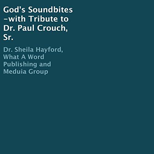 God's Soundbites audiobook cover art