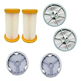 JIABIN Songz Store Filtro 6pcs + HEPA + Filter Cover Accesorios de aspiradora Piezas Ajuste para Philips FC8264 FC8262 FC8260 FC8208 FC8256
