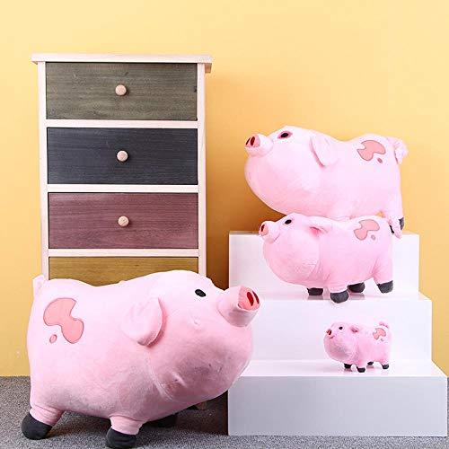 HPPLKawaii 16cm 27cm Gravity Falls Peluches Lindo Pink Pig Waddles Juguete de Peluche para niños, 27 cm