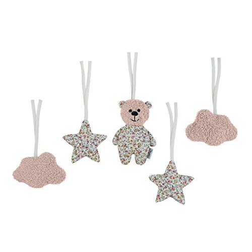 Sterntaler Figurines À Accrocher À l'Archet en Bois Star, Baylee, Rose